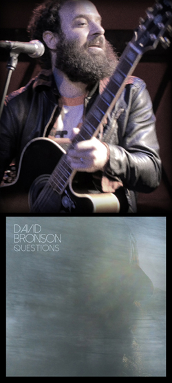 David Bronson live with Questions album artwork